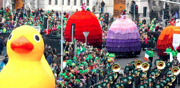 Be a volunteer at St. Patricks Festival