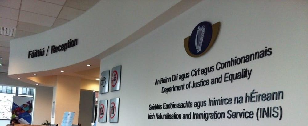 O novo sistema de agendamento da Imigração em Dublin
