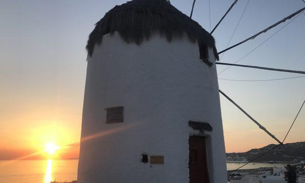 O sonho de uma ilha grega